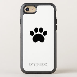 Cute Paw Print OtterBox Symmetry iPhone 8/7 Case
