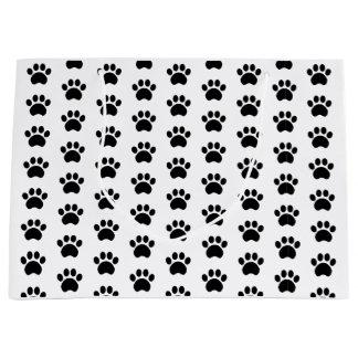 Cute Paw Print Pattern Gift Bag