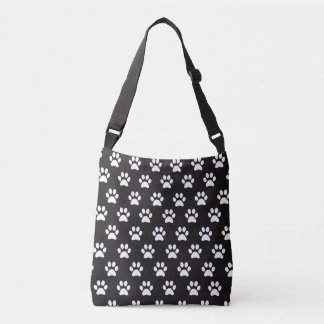 Cute Paw Print Tote Bag