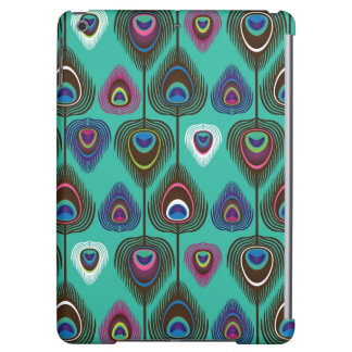 cute peacock feather pattern case for iPad air