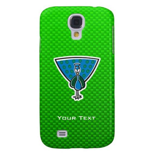 Cute Peacock; Green HTC Vivid / Raider 4G Cover