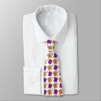 Cute Peanut Butter and Jelly Tie