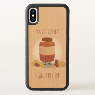 Cute Peanut Butter Jar | iPhone X Case