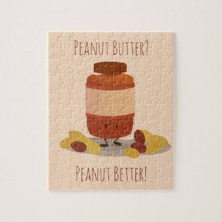 Cute Peanut Butter Jar   Jigsaw Puzzle