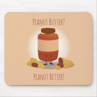 Cute Peanut Butter Jar | Mousepad