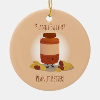 Cute Peanut Butter Jar | Ornament