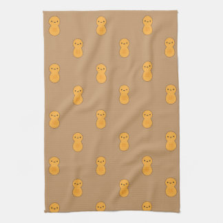 Cute Peanut Pattern Kitchen Towel