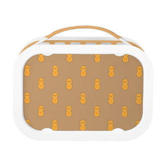 Cute Peanut Pattern Lunchboxes