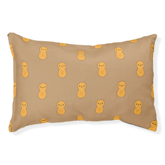 Cute Peanut Pattern Pet Bed