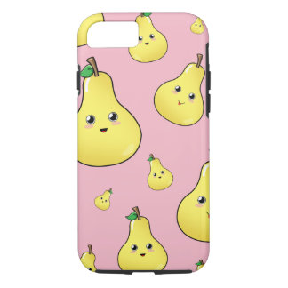 Cute Pear iPhone Case, Fruity Phone Cover