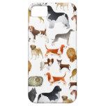 Cute Pedigree Pet Dog Wallpaper Design iPhone 5 Cover