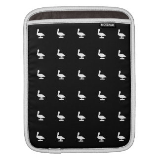 cute pelican pattern naples florida iPad sleeve