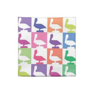 cute pelican pattern naples florida napkin