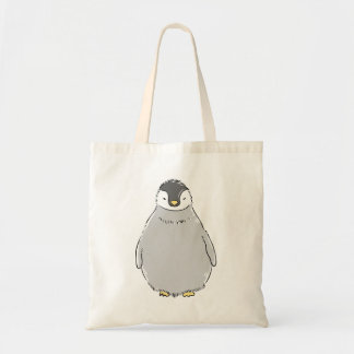 Cute Penguin Chick Budget Tote Bag