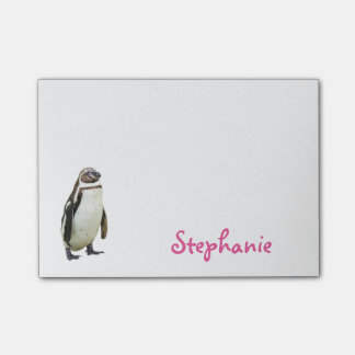 Cute Penguin Girly Name Post-it® Notes