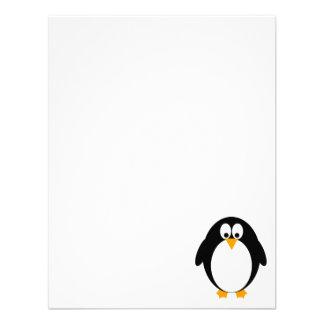 Cute Penguin Invite