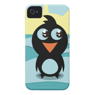 Cute  Penguin iPhone 4 Case-Mate Barely There