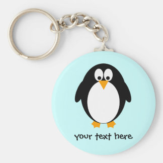 Cute Penguin Keychain