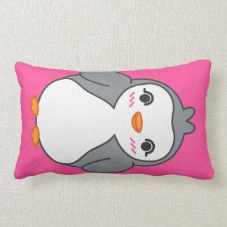 Cute Penguin Long Pink Pillow Finguin & Friends