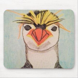 Cute Penguin Mouse Pad