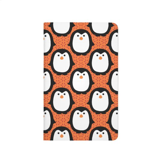 Cute Penguin Pattern Skin Journal