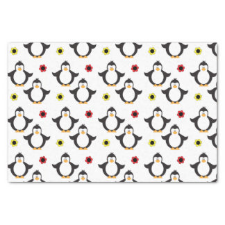Cute Penguin Pattern Tissue Paper