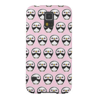 Cute Penguin (Pink) Galaxy S5 Phone Case