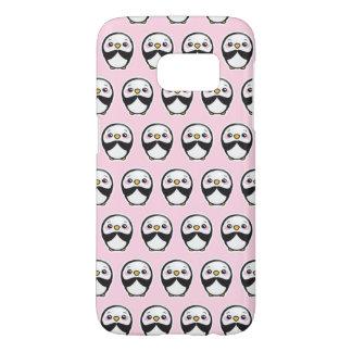 Cute Penguin (Pink) Samsung Galaxy S7 Phone Case