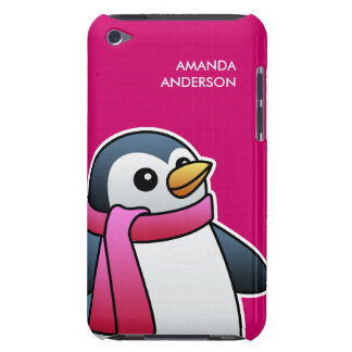 Cute Penguin with Scarf iPod Touch Case-Mate Case
