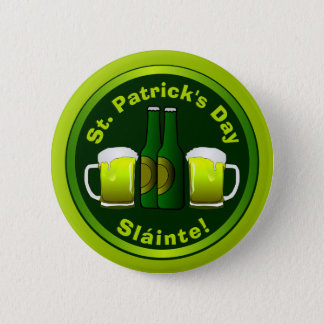 Cute Personal or Business St. Patrick's 2 Inch Round Button