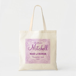 Cute personalized abstract maid of honor wedding
