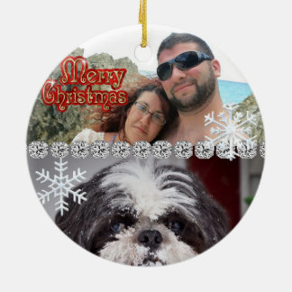 Cute Personalized Custom Ornament 2014