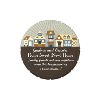 Cute Personalized Housewarming Favors Candy Tin