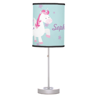 Cute Personalized Magical Unicorn table Lamp