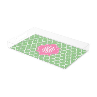 Cute personalized serving tray
