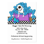 Cute Pet Grooming Business And Appointment Card Business Card Template