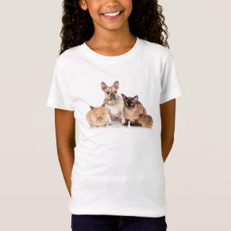 Cute Pet Lovers & Pet Owners Girls Novelty T-Shirt