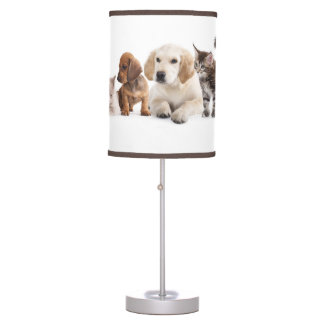 Cute Pet Panorama Table Lamp