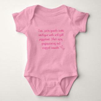 Cute Petite Female Seeking Intelligent Male Baby Bodysuit
