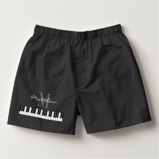 Cute piano keys boxer shorts underwear for pianist boxers
