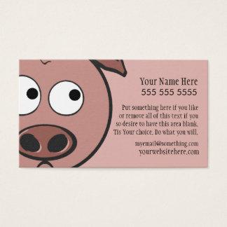 Cute Pig Business Card