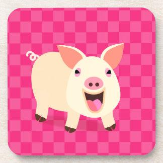 Cute Pig Coaster