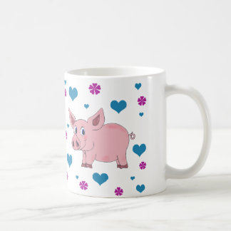 Cute Pig Coffee Cup