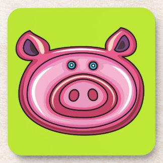 Cute Pig Drink Coaster