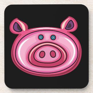 Cute Pig Drink Coasters