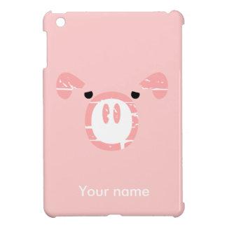 Cute Pig Face illusion. iPad Mini Case