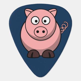 Cute Pig Guitar Pick