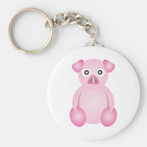 Cute Pig Keychains