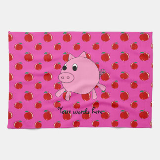 Cute pig kitchen towel