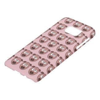 Cute Pig Pattern Samsung Galaxy S7 Case